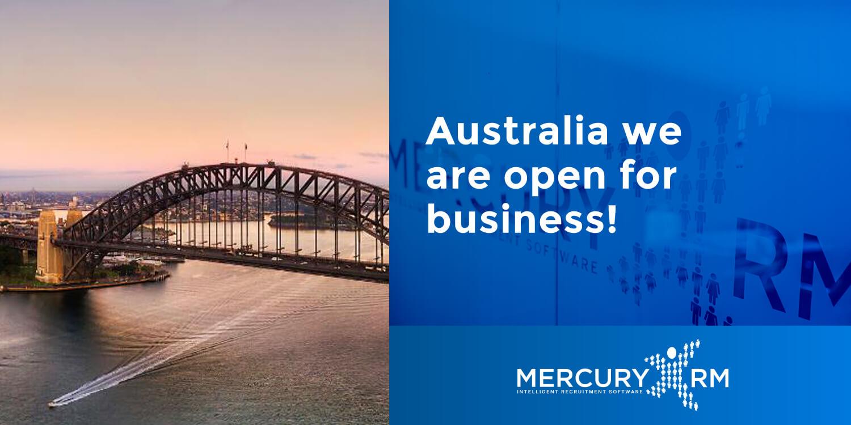 Open in Australia Banner