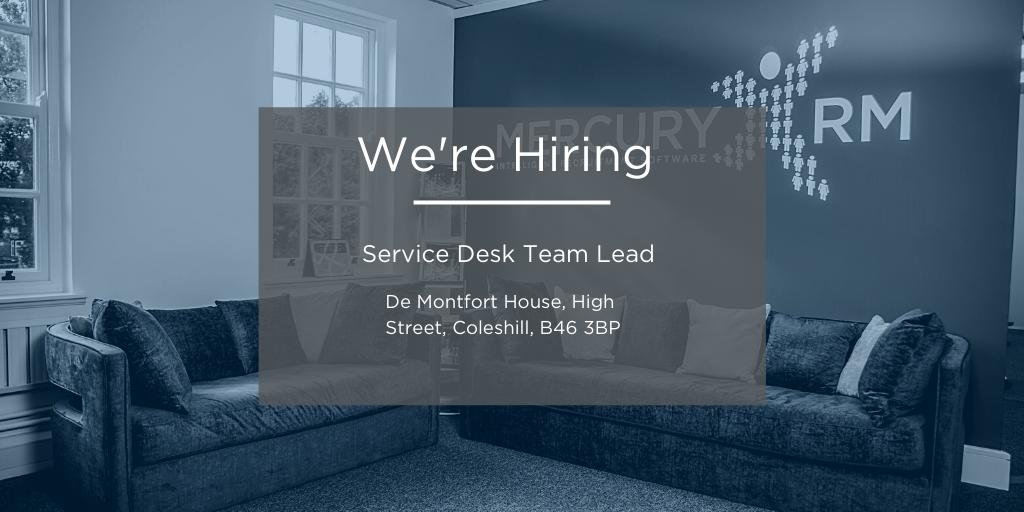 Service Desk Team Lead